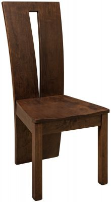 Hardwood Contemporary Statement Chair