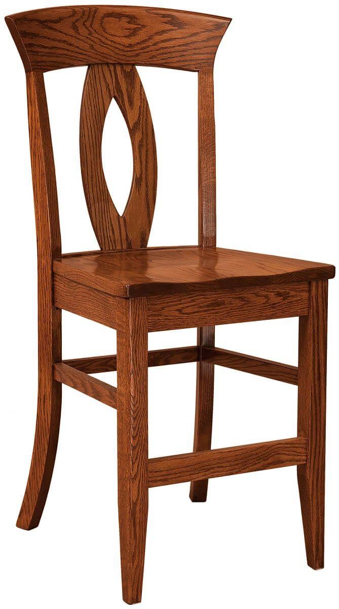 Amelia Solid Wood Barstools