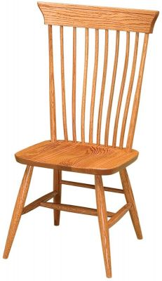 Angels Landing Side Chair in Oak