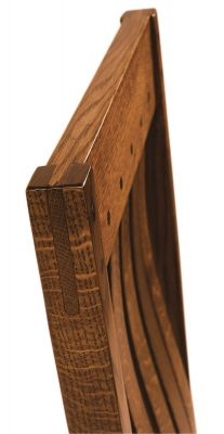 Ayers Rock Dining Chair Top Rail Detail