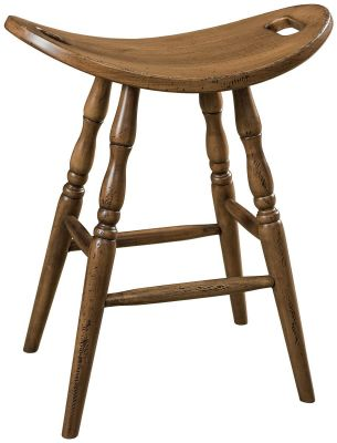 Catalonian Saddle Bar Stool