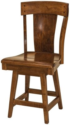 Chasteen Creek Swivel Pub Stool
