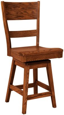 Chestnut Street Swivel Bar Stool