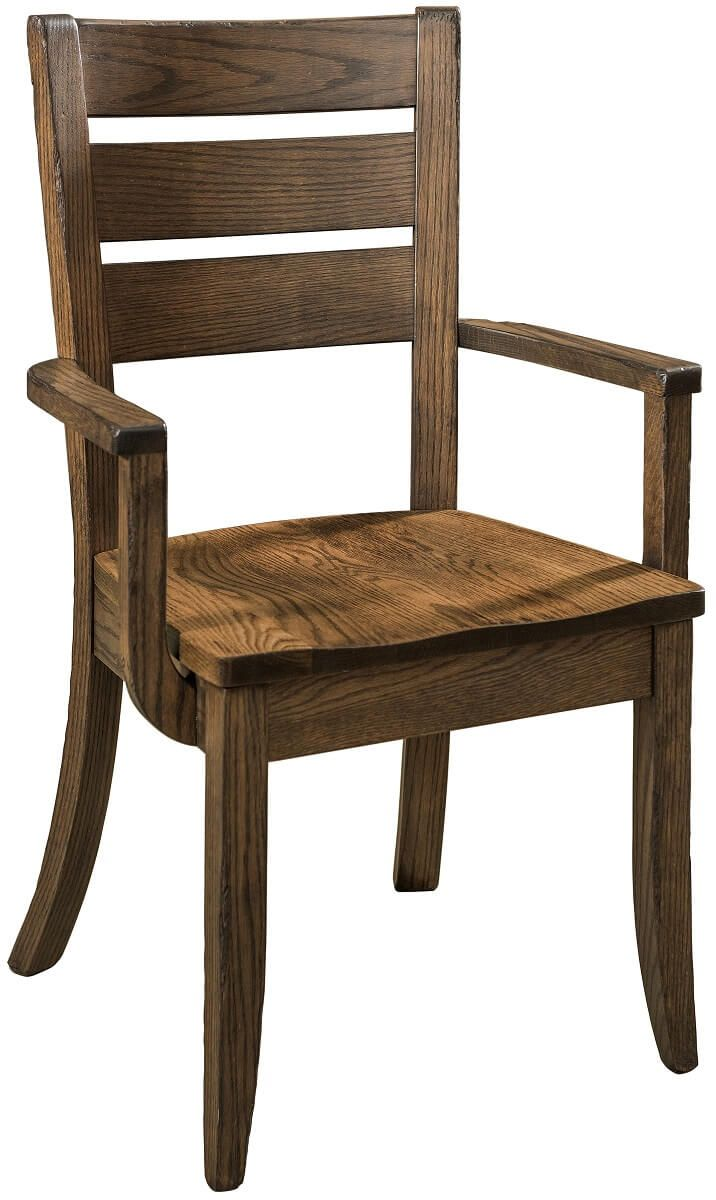 Amish Made Modern Ladder Back Chair