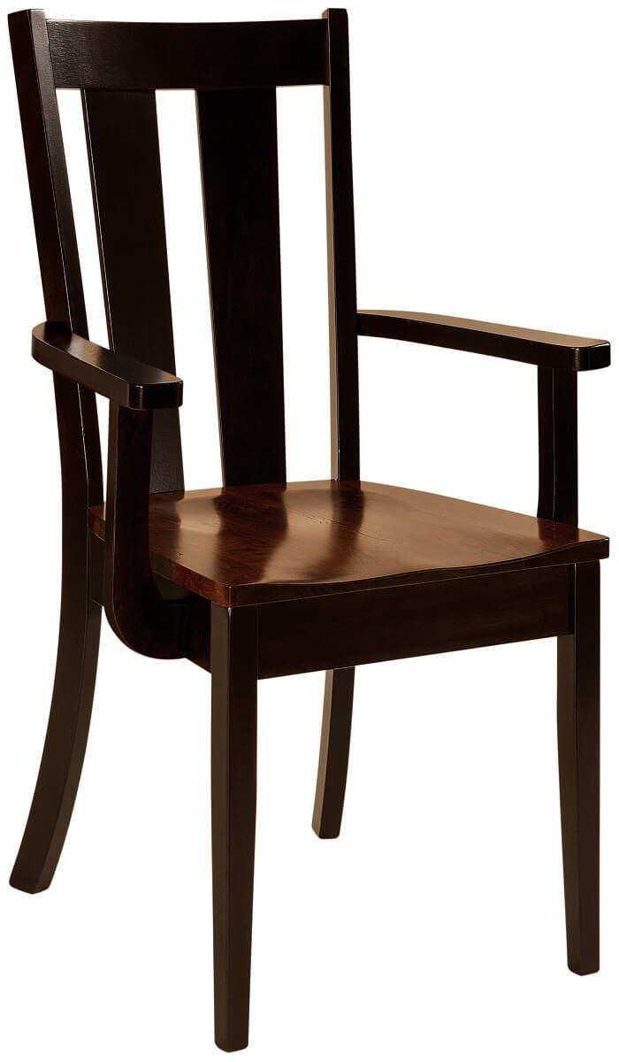 Claudio Wooden Arm Chair