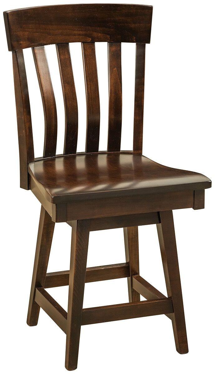 Cooper Court Swivel Pub Chair