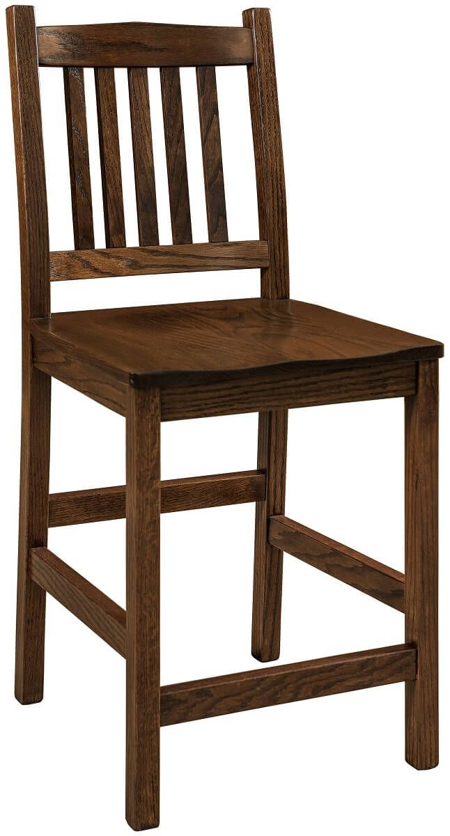 Crawford Wooden Cafe Stool