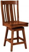 Cross Timbers Swivel Bar Chair