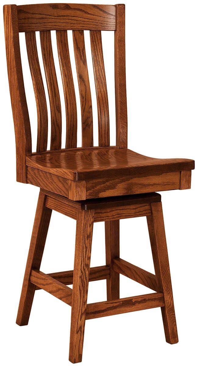 El Rancho Swivel Bar Chair