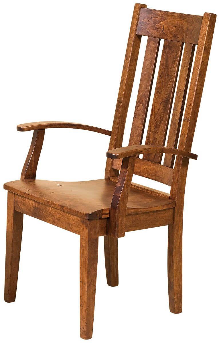 Fernando Breadboard End Arm Chair