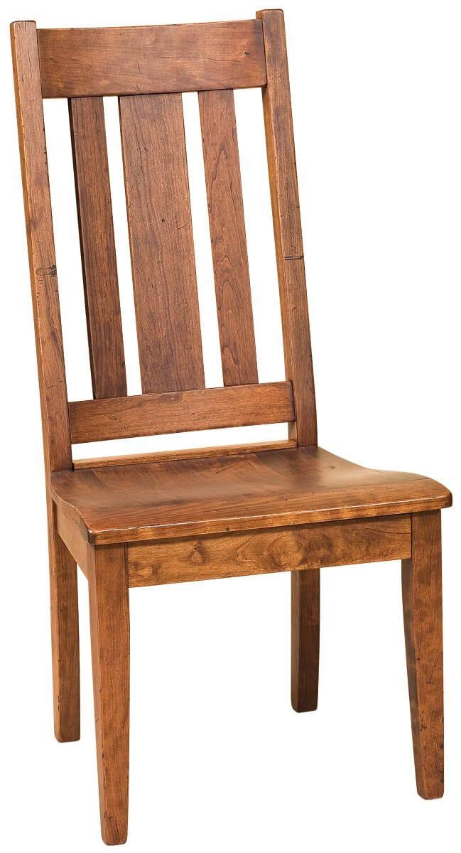 Fernando Breadboard End Side Chair