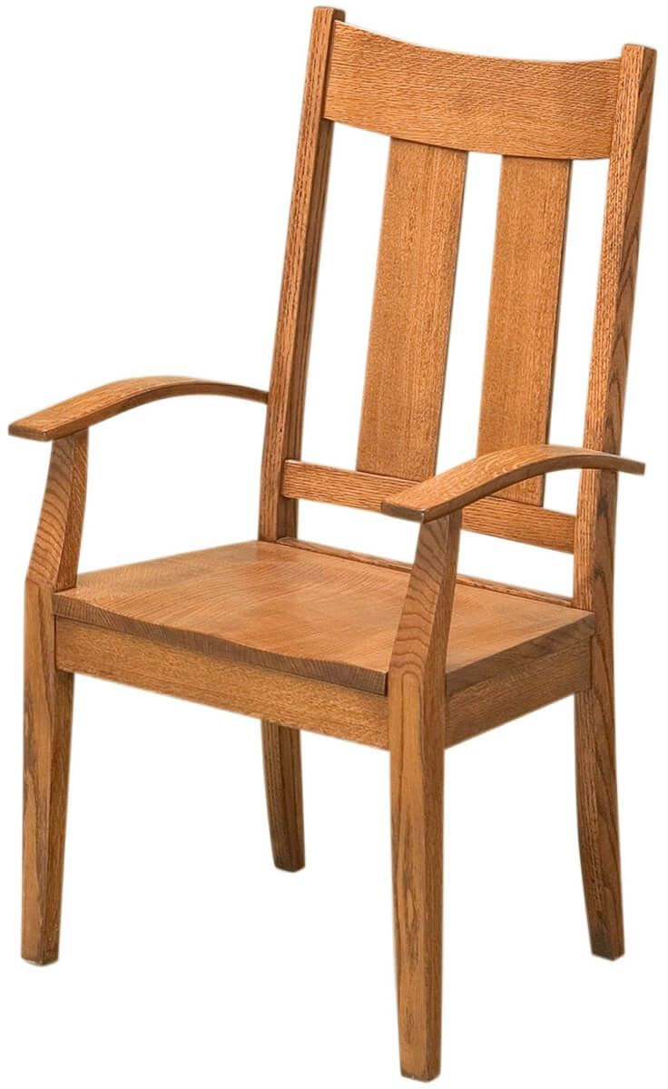 Craftsman Kitchen Chair with Arms