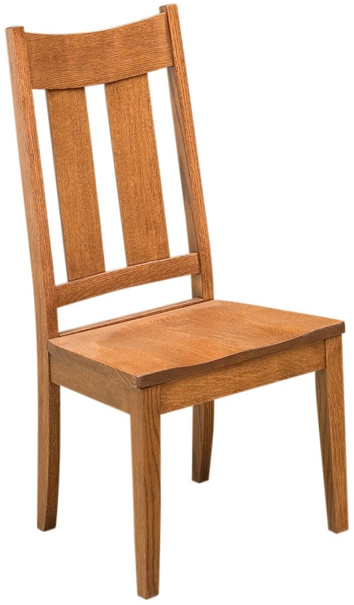 Solid Wood Amish Dining Chair