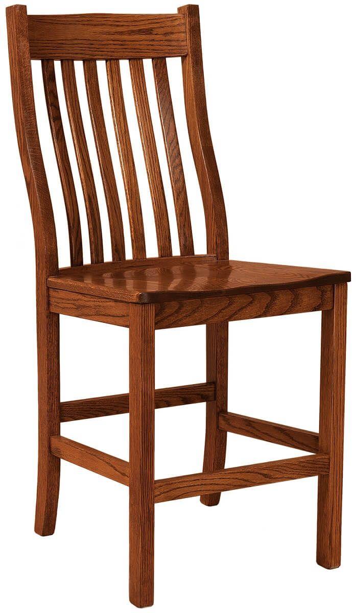 Amish Flintridge Bar Chair