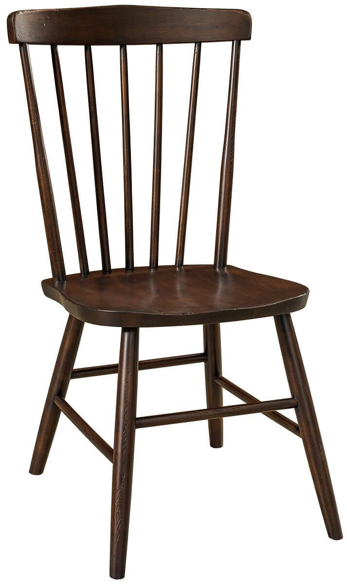 Real Wood Spindle Dining Chair