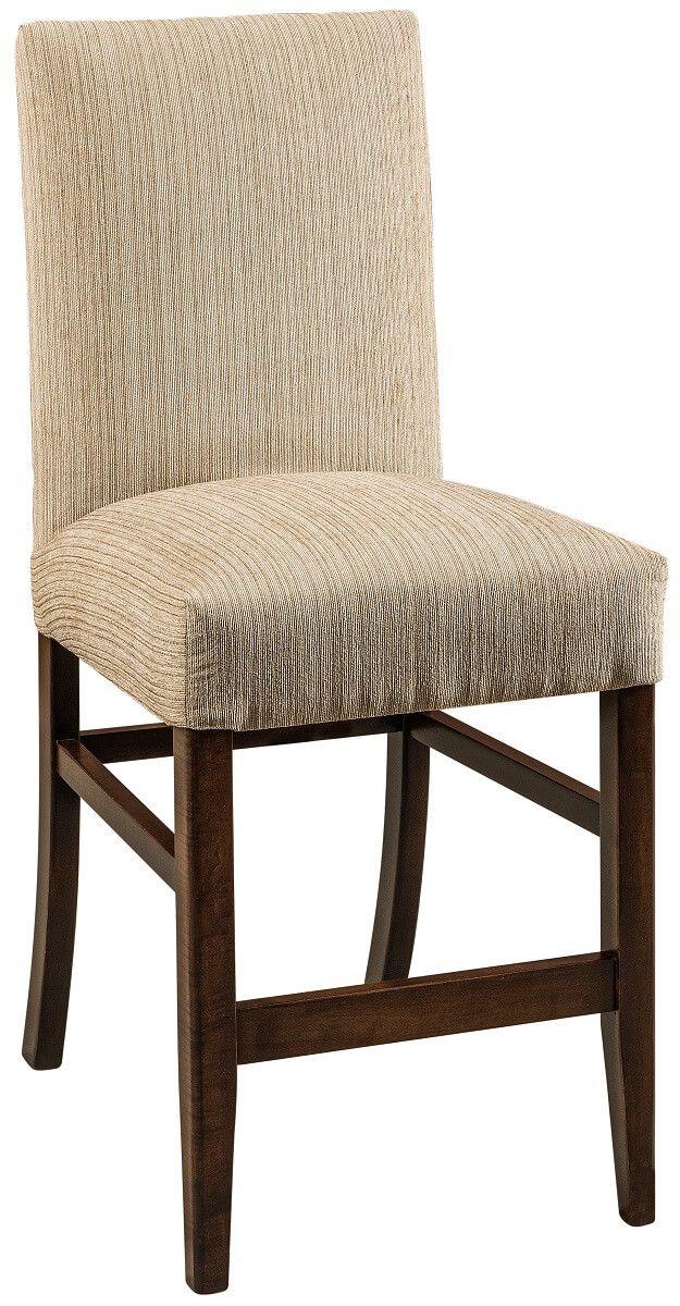 Hanley Fabric Hardwood Bar Chair