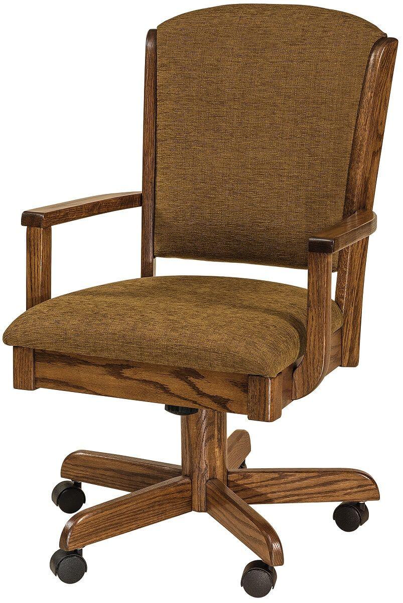 Harvey Upholstered Desk Chair