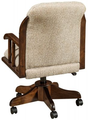 Upholstered Amish Desk Chair
