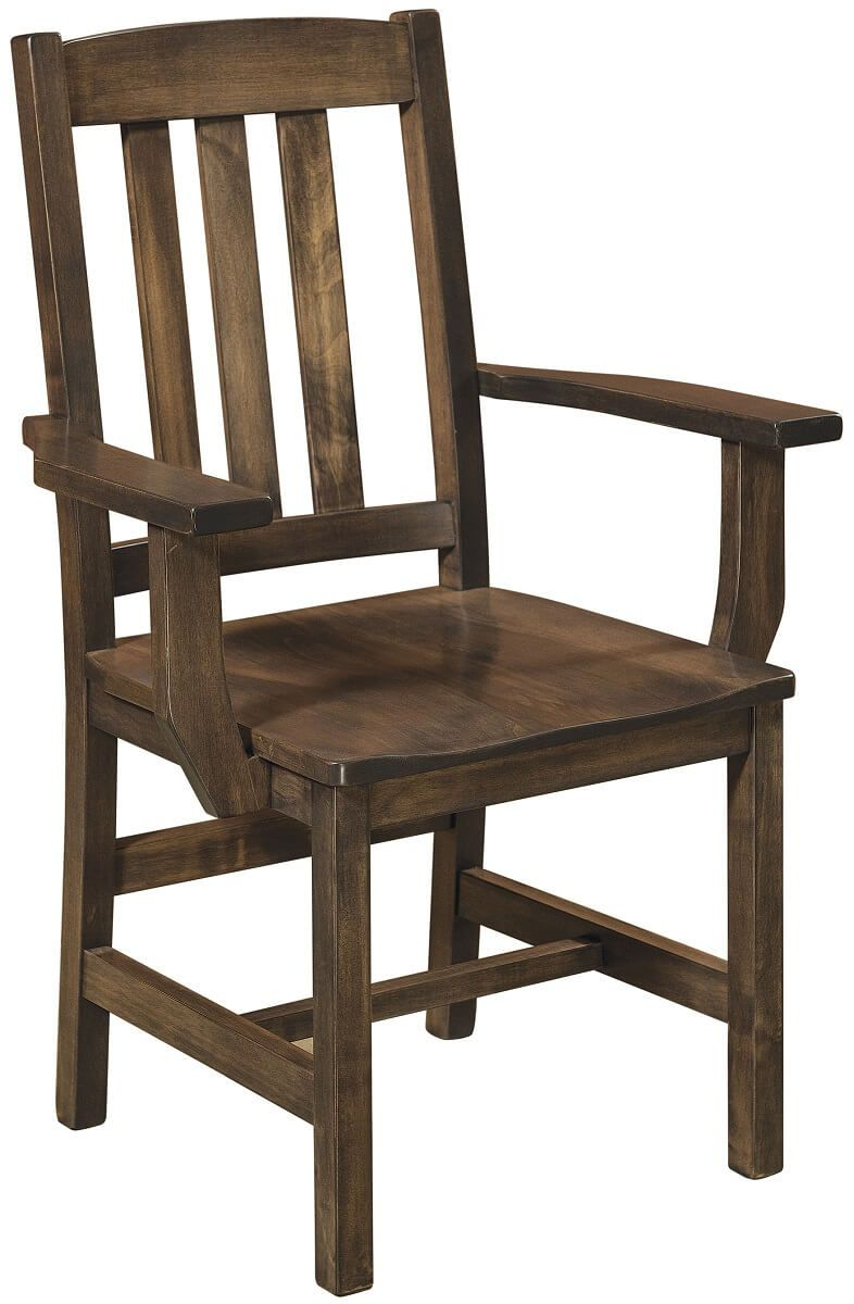 Jarrett Mission Dining Arm Chair