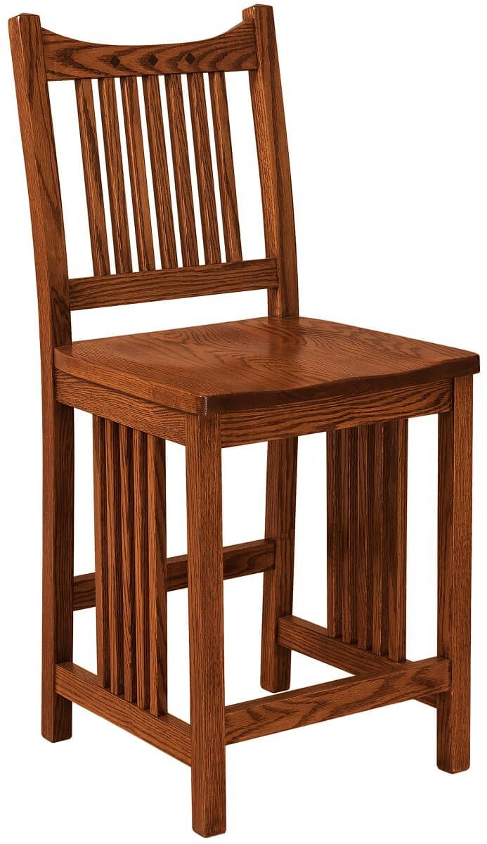 Laurel Mission Pub Chair in Oak