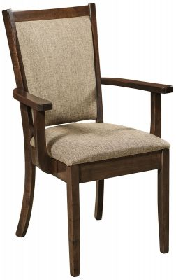 Lehigh Upholstered Arm Dining Chair