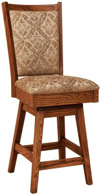 Lehigh Swivel Cafe Stool