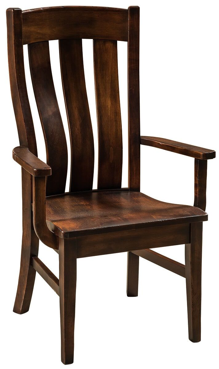 Makena Rustic Arm Chair