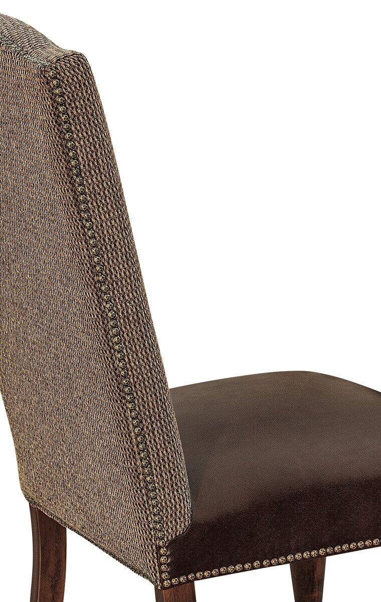 Nail Head Trim Detail on Chair