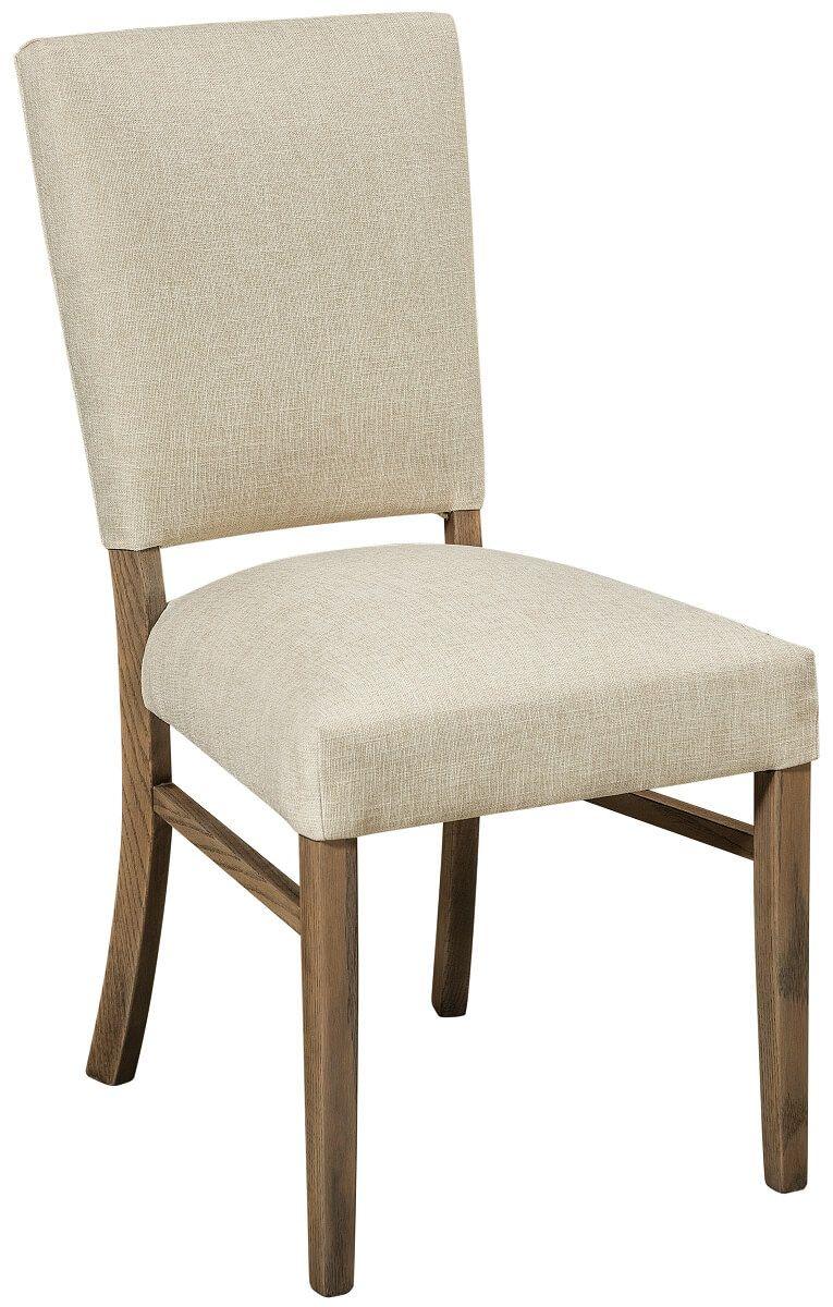 Modern Oak Upholstered Chair