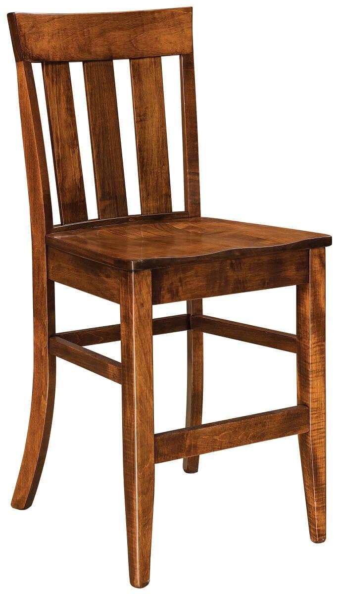 Mielec Amish Made Pub Chair