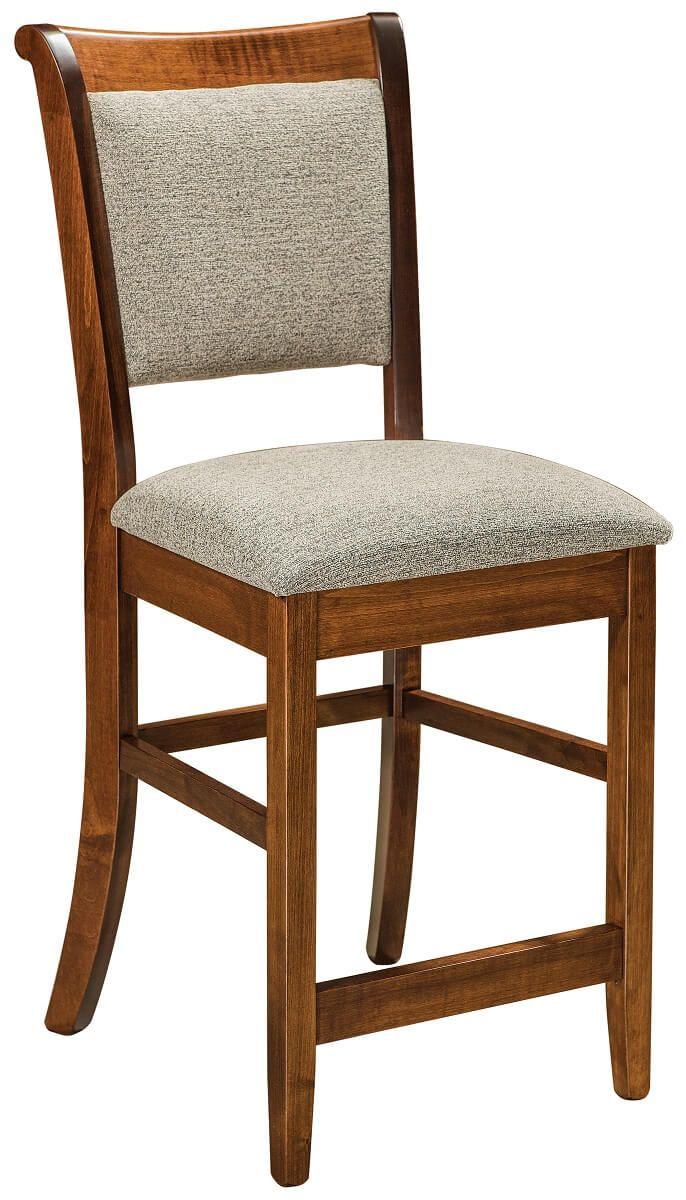 Bar Height Modern Shaker Chair