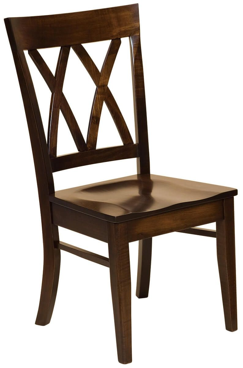 Morrison Cross Back Side Chair