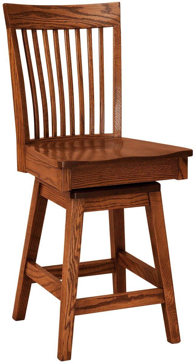 Mt. Laurel Swivel Counter Chair