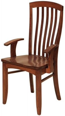 Piazza Solid Wood Arm Chair