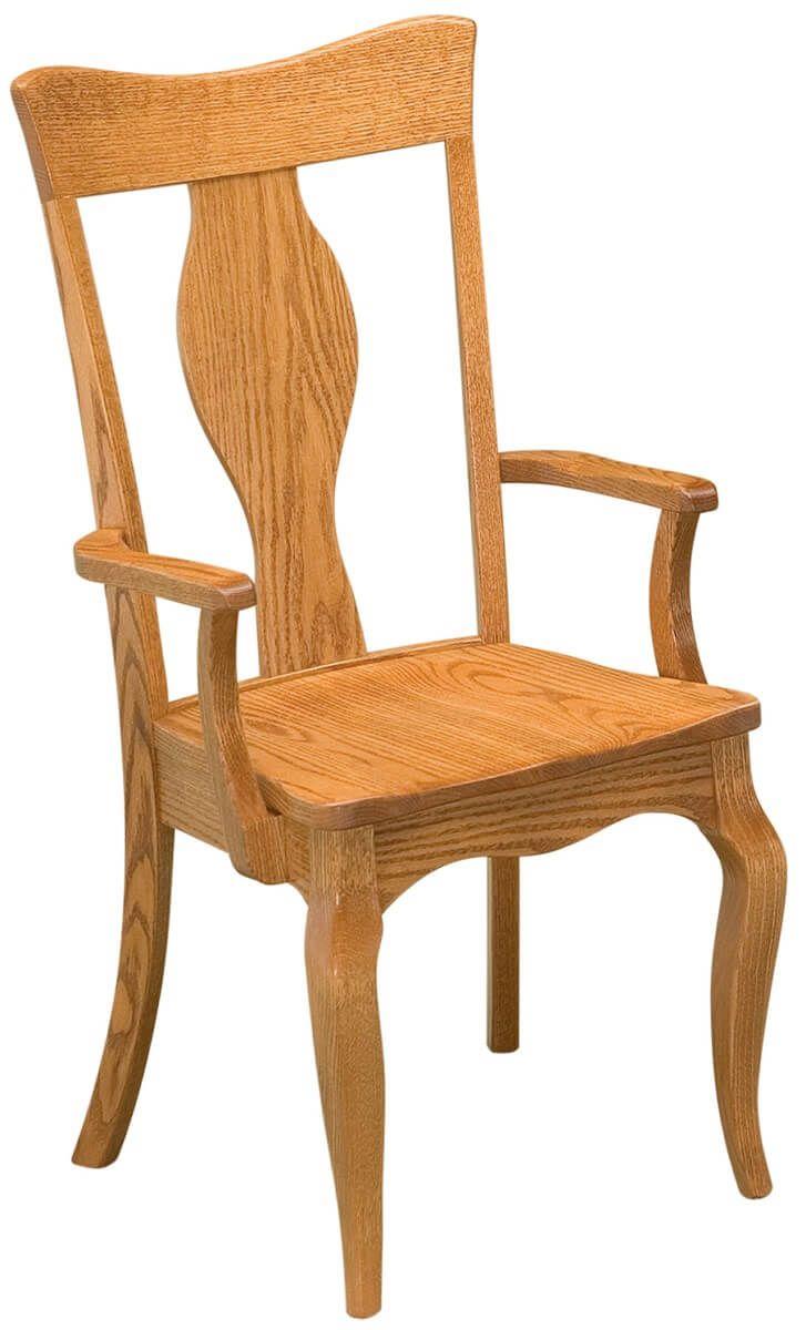 Rouen Dining Chair in Oak