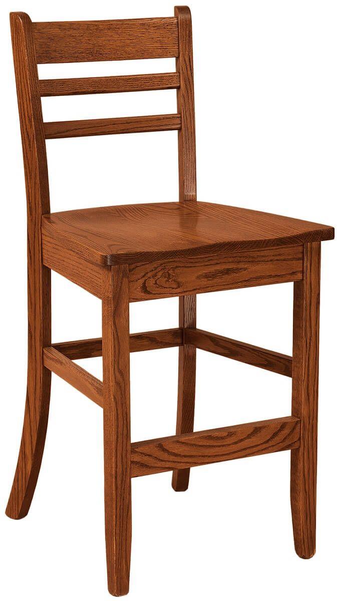 Oak Counter Chair
