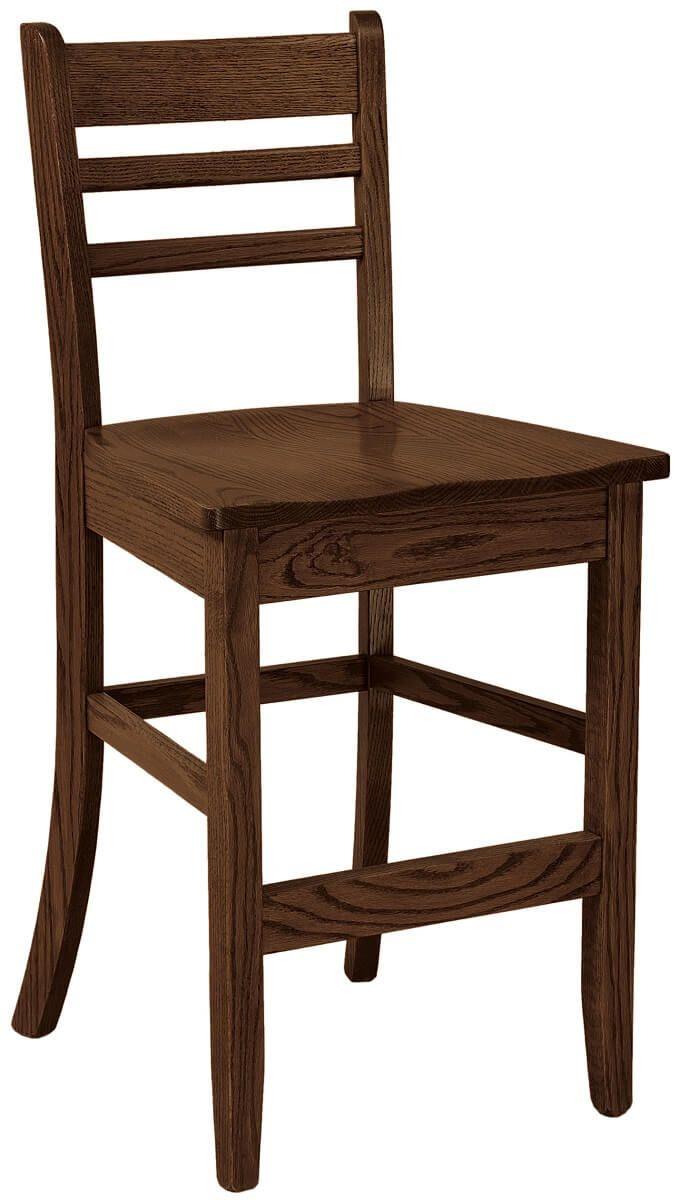 Ladderback Counter Bar Chair