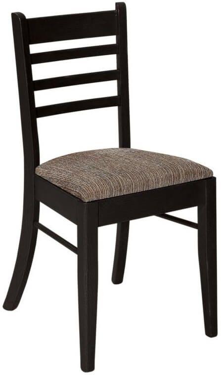 Black Ladder Back Chair