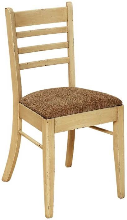 Painted Ladderback Side Chair
