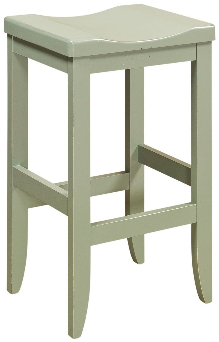 Sibbick Wooden Barstool in Painted Finish