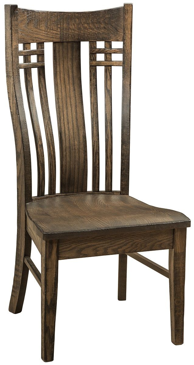 Rustic Craftsman Kitchen Side Chair