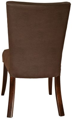 Back of Spicoli Leather Dining Chairs