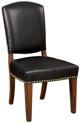 Leather Amish Dining Chair