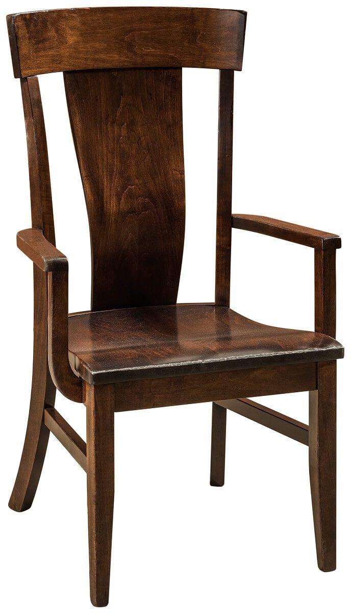 Brown Maple Modern Chair