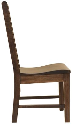 Scooped Wooden Chair Seat
