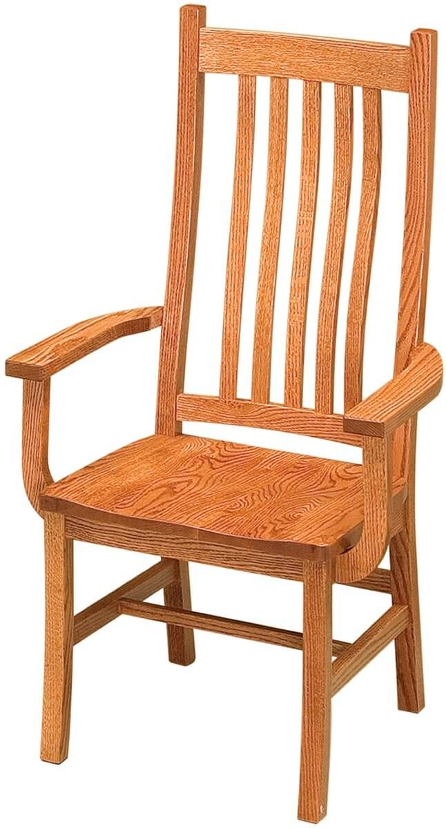Woodside Mission Arm Chair