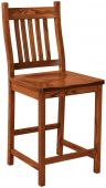 Woodside Mission Bar Chair
