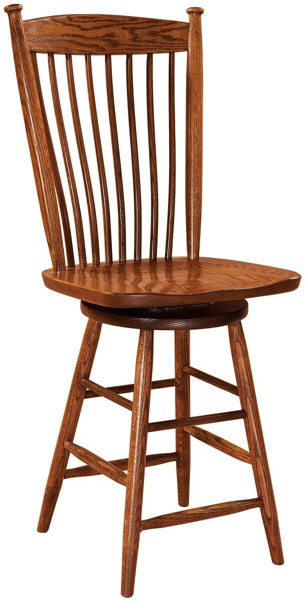 Wrangell Swivel Bar Chair