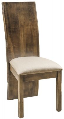 Brown Maple Modern Side Chair