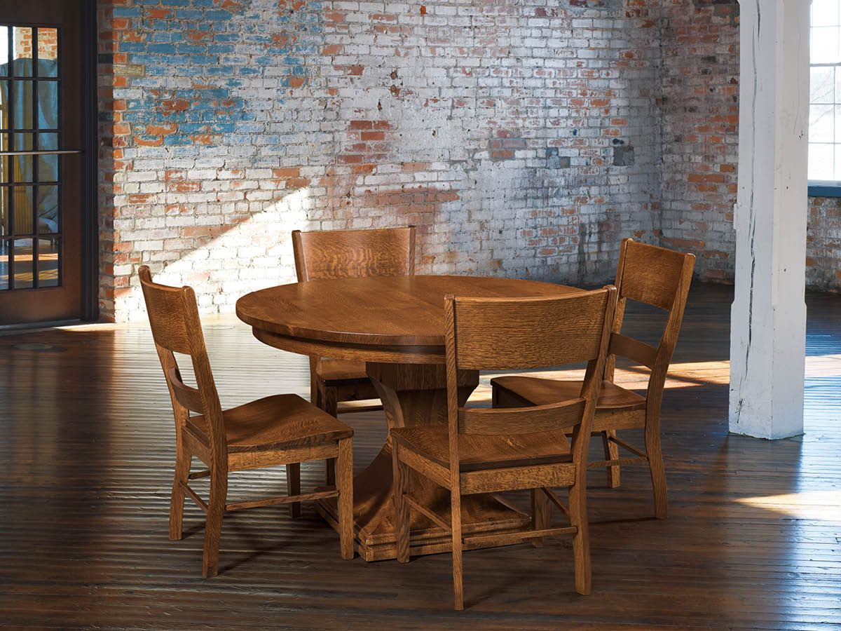 Side Chairs with Corleone Table